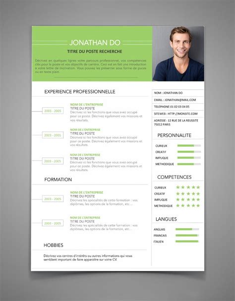 Model D Cv by 25 Best Exemple De Cv Ideas On Un Exemple De