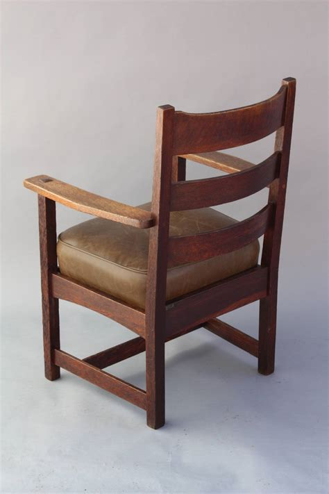 signed arts and crafts charles stickley armchair at 1stdibs