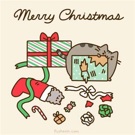 pusheen cat christmas to do list pusheen stormy puuuuusheen pinterest