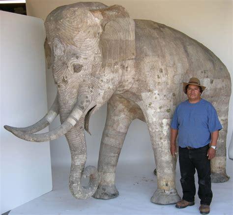 How To Make A Paper Mache Statue - size papier mache elephant papier mache paper