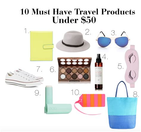 10 must have items for an at home workout glitter guide 10 travel must have products under 50 girl in betsey