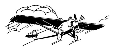 airplane clipart fashioned airplane clipart