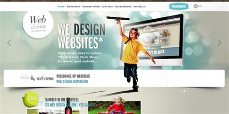 design a web page layout using css 30 fresh css website designs for inspiration designmodo