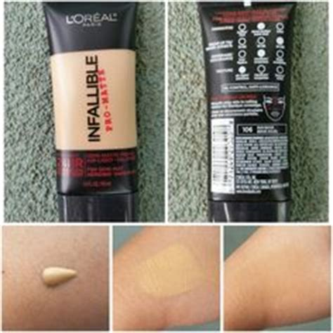 L Oreal Infallible Pro Matte 106 l oreal infallible pro matte foundation swatches make up