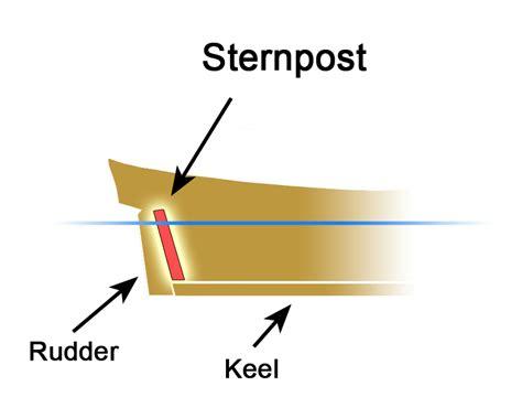 quarterdeck boat definition sternpost wikipedia