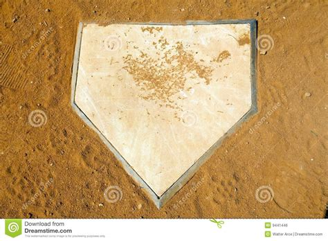 home plate royalty free stock image image 9441446