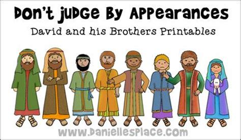 don t judge by appearances david and his brothers