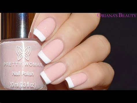 tutorial de uñas instagram dise 241 o manicure francesa tutorial de u 241 as youtube