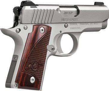 kimber 3300103 micro carry stainless rosewood pistol 380