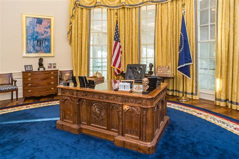 may not be able to work in the oval office for