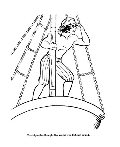 christopher columbus ships coloring pages az coloring pages