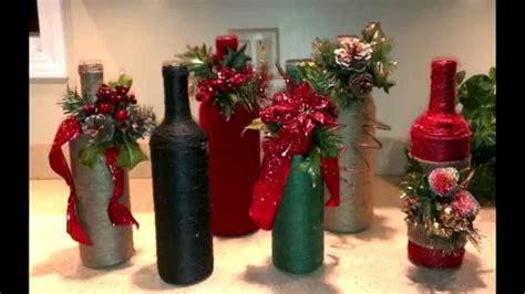 adornos de botella navidad imagenes botellas decoradas navide 209 as youtube