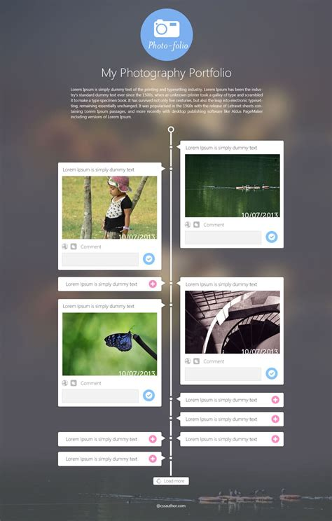 Latest Free Web Page Templates Psd 187 Css Author Portfolio Templates Psd Free
