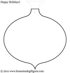 printable christmas ornament shapes printable ornament templates click on the template image below to the free