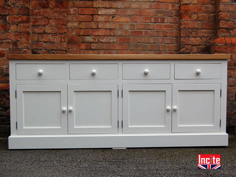 Handmade Painted Furniture - handmade solid oak and painted sideboard by incite derby