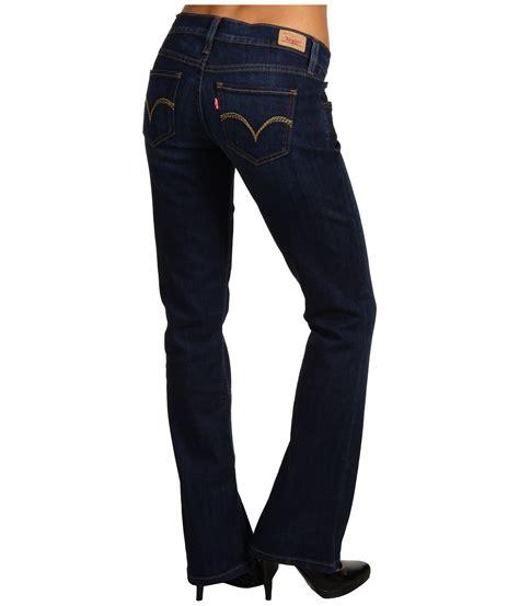levis boot cut levis juniors 524 boot cut w back pocket embellishment