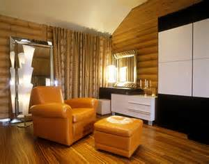 Modern Log Home Interiors Modern Log Cabin Design Will Your Mind