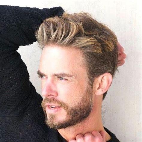 blonde hairstyles  men   hairstyles