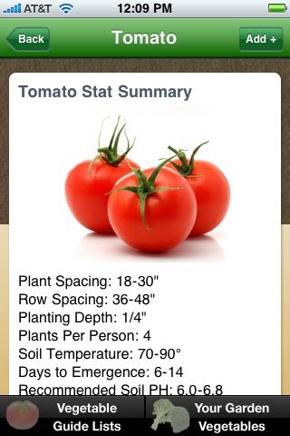 Vegetable Garden Guide Iphone And Android App Vegetable Garden App