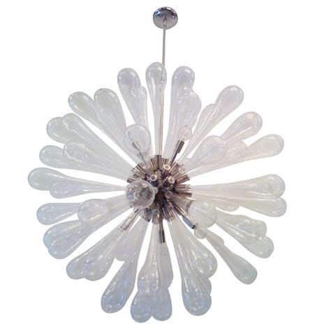 blown glass chandelier large murano blown glass chandelier for sale at 1stdibs