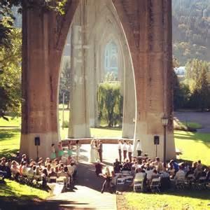 Park Portland Oregon by Wedding At Cathedral Park Portland Or Forever Together