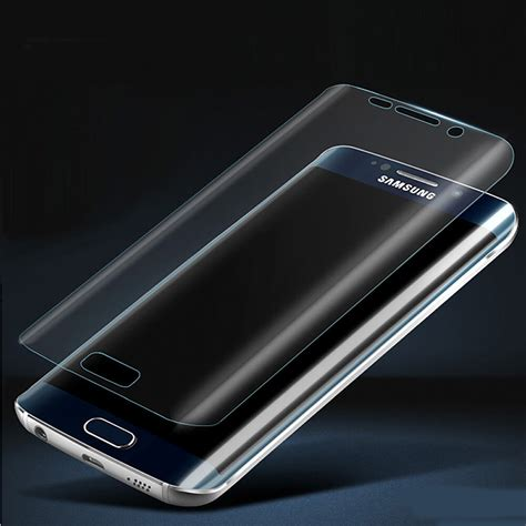 Remax Pet Cover Curved Screen Guard Samsung Galaxy S6 Diskon remax 3d screen protector for samsung s6 edge size cover