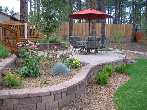 Small Landscaped Gardens Ideas Great Backyard Landscape Design Ideas On A Budget On Exterior In Small Backyard Landscaping Lawn