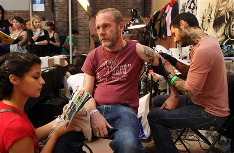 london tattoo convention opening times enthusiasts gather at the london tattoo convention zimbio