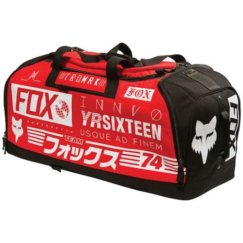 motocross gear bags closeout fox racing podium union gear bag revzilla