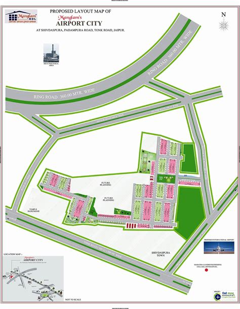 airport layout plan exle manglam airport city plots in jaipur