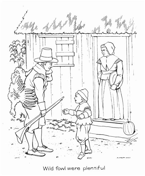 pilgrim coloring pages coloring pages to print