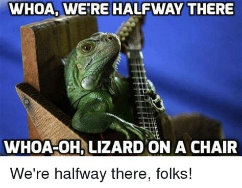 Halfway There Meme - 25 best memes about whoa were halfway there whoa were