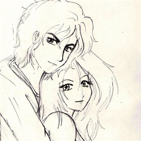 hd lovers pencil images cute anime couple drawing tumblr easy anime drawing couple