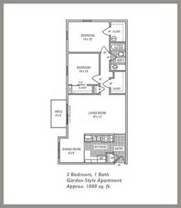 750 Sq Ft Apartment by Floor Plans Pope Properties