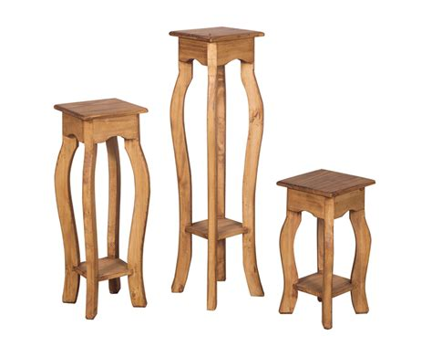 Plant stand set of three
