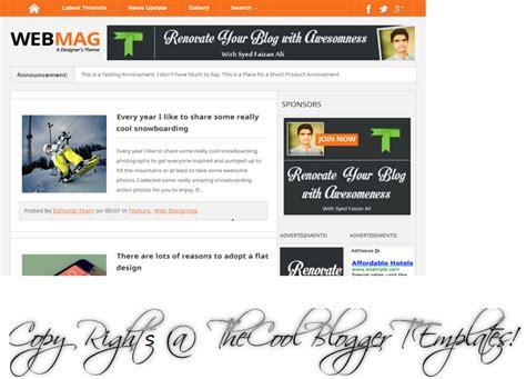 templates blogger professional webmag professional blogger template blogger and