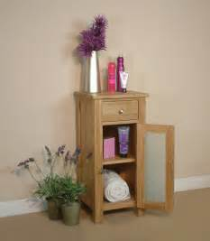 Oak Freestanding Bathroom Furniture Fusion Solid Oak Bathroom Storage Cabinet Cupboard Free Standing Small Unit Ebay