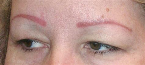 tattoo eyebrows sacramento before and after photos wakeup wearing makeup