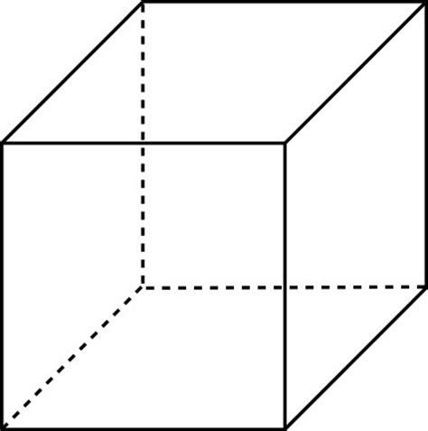 le cube les faces du cube