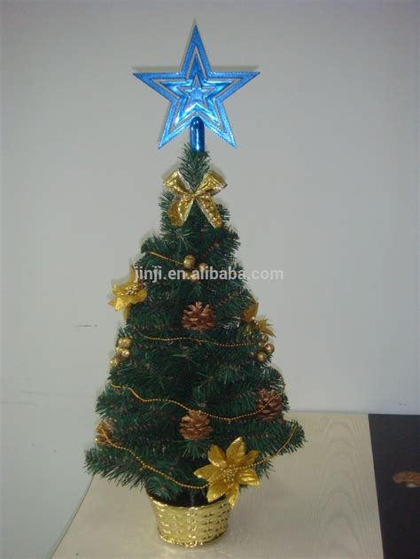 2015 new arrival decorated mini christmas tree for party