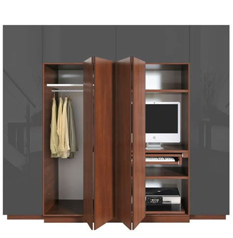 Wardrobe With Desk by Hawthorne Wardrobe Closet Desk Instant Home Office