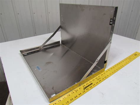 Stainless Steel Wall Mounted Folding Desk Chart Nurse Wall Mounted Folding Desk