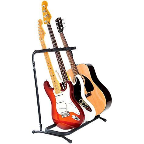 Stand Gitar Isi 3 Stand Gitar fender folding 3 guitar stand guitar center