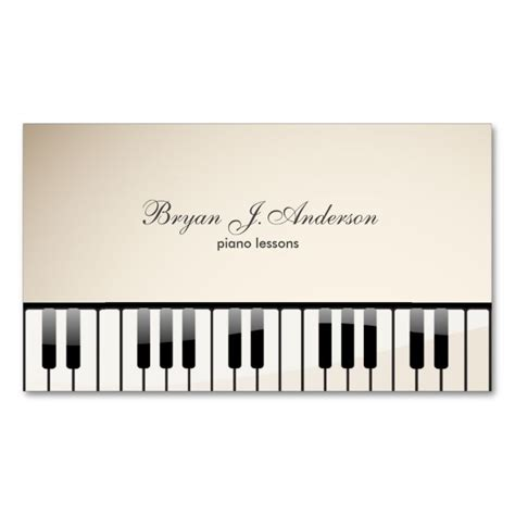 piano card template 1000 images about business card templates on