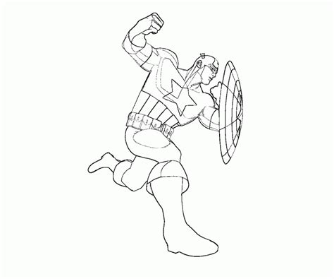Marvel Captain America Coloring Pages Coloring Home Captain Marvel Coloring Pages