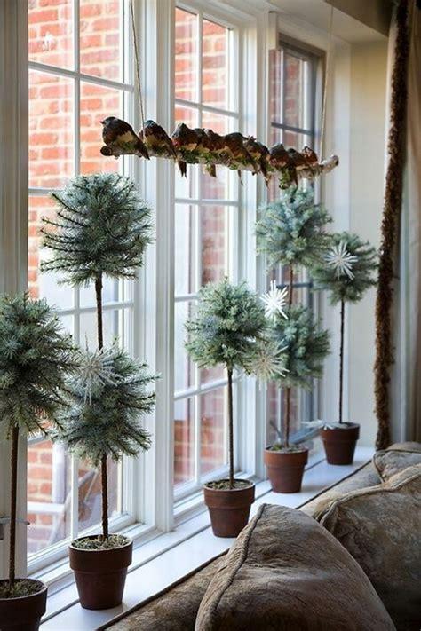 blumentöpfe dekorieren weihnachtsdeko fenster 30 hervorragende fensterdeko