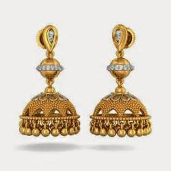 gold earring design free hd wallpapers gold jhumka earring designs free wallpapers