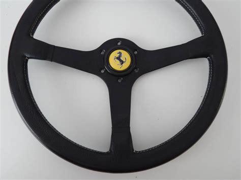 ferrari steering wheel ferrari testarossa boxer mondial 308 qv momo steering