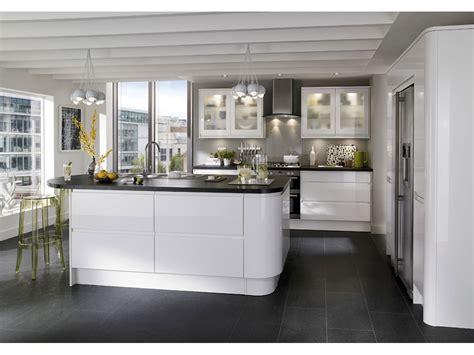 agréable Poignee Porte Cuisine Pas Cher #2: cuisine-design-porte-sans-poignee.jpg
