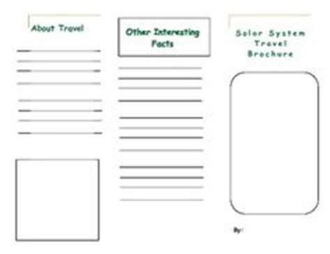 travel brochure template for students 1000 images about science solar system on